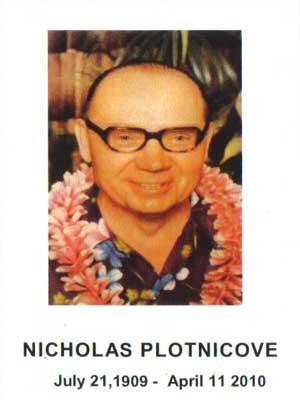 Nick Plotnicove